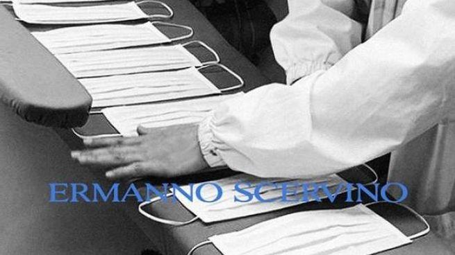 Le sarte di Ermanno Scervino confezionano mascherine