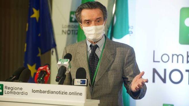 Attilio Fontana, presidente della Regione Lombardia (ImagoE)