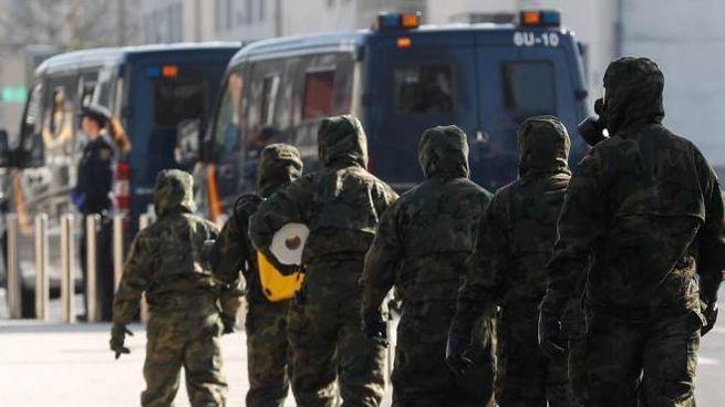 Militari spagnoli (Ansa)