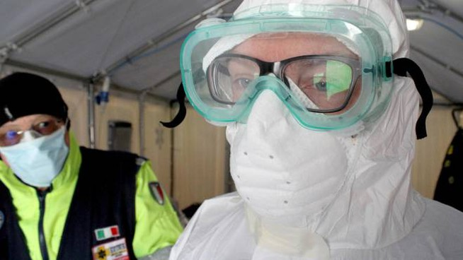 Coronavirus, i contagi e i decessi crescono anche a Modena (ansa)