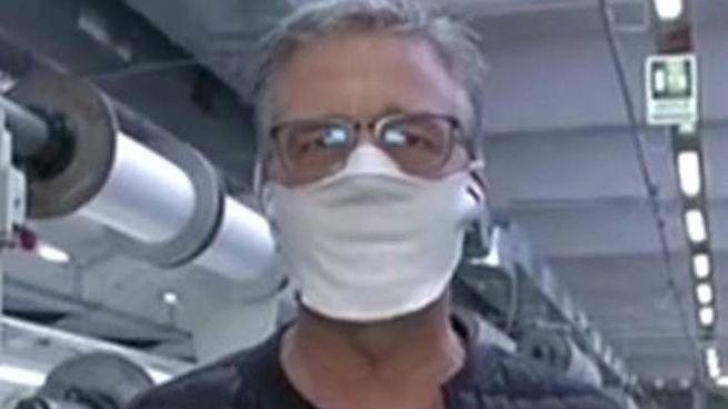 Citterio, Ceo di Cifra Spa, indossa la mascherina
