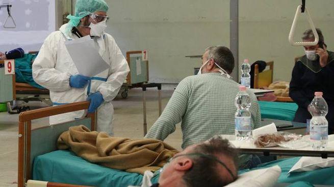 Medici e infermieri degli Spedali Civili di Brescia