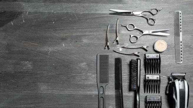 Il kit per tagliare i capelli
