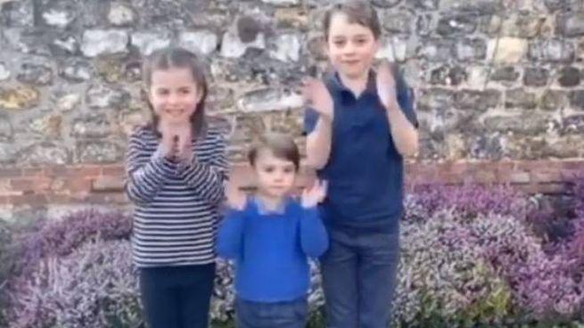 I figli di William e Kate applaudono ai medici impegnati contro il Covi-19 (Instagram)