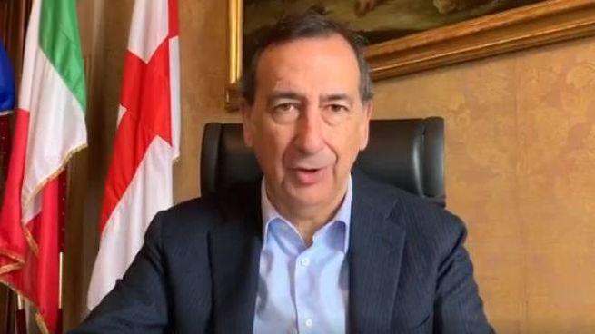Il sindaco di Milano Giuseppe Sala (Frame video Facebok)