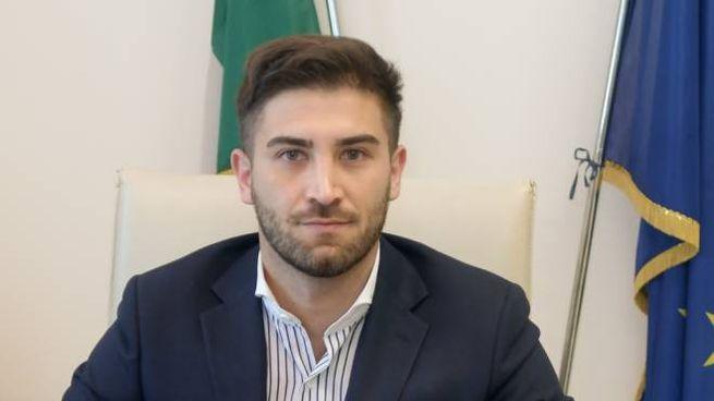 Il sindaco di Tribiano, Roberto Gabriele