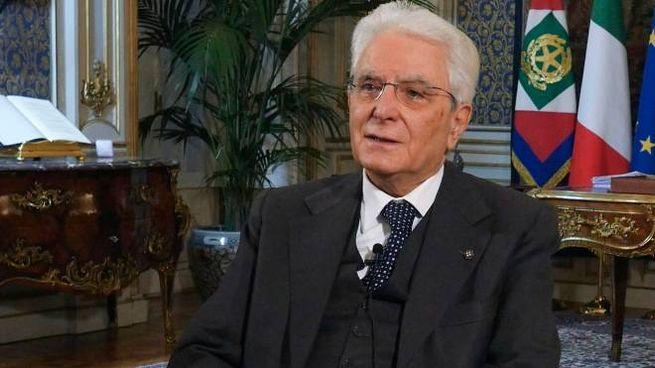 Il presidente della Repubblica, Sergio Mattarella (Ansa)
