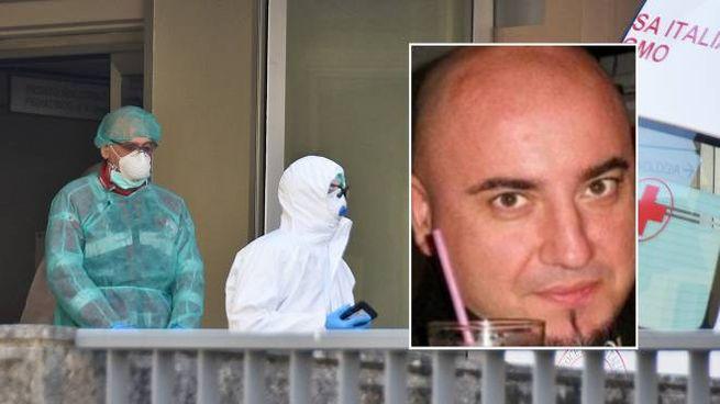 Giangabriele Scarafile (nel riquadro) ucciso a 47 anni dal Coronavirus