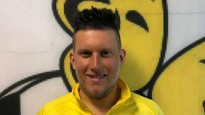 Giacomo Gardinali indossa la maglia della squadra dove giocava