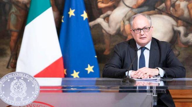 Il ministro dell'Economia, Roberto Gualtieri (Ansa)