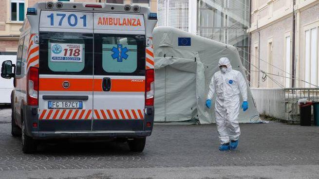 Ospedale Covid a Pesaro (Fotoprint)