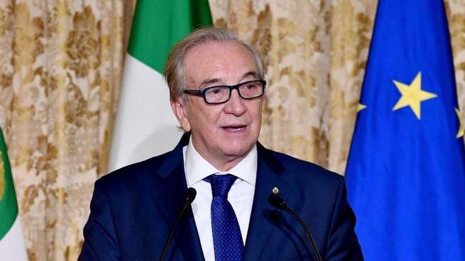 Il presidente federale, Bruno Cattaneo