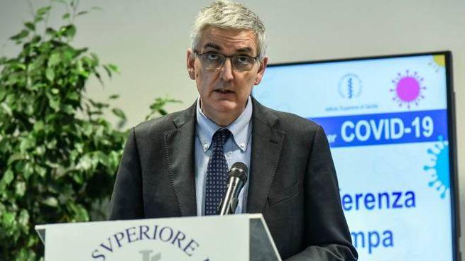 Il presidente dell'Iss Silvio Brusaferro (ImagoE)