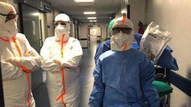 Coronavirus, cresce il numero delle vittime nelle Marche (Foto Ansa)