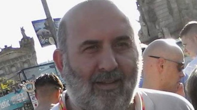 Aurelio Prata, volontario alle feste e sagre di Medicina e membro della corale Quadrivium
