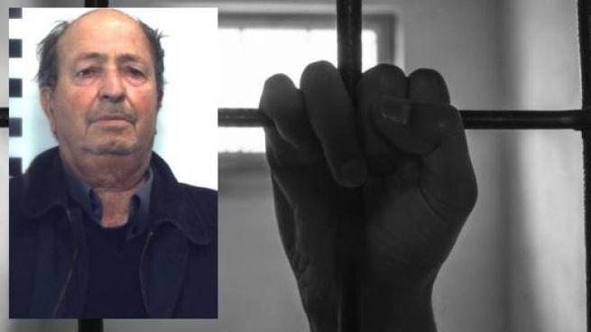 Nel riquadro, Vincenzo Sucato. Il detenuto, deceduto, positivo al covid-19