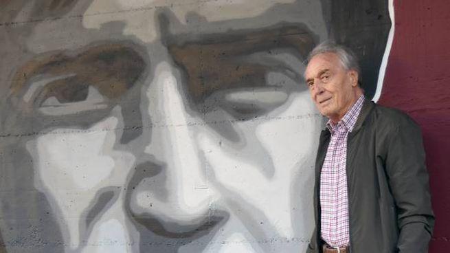 Giampiero Grevi, 84 anni, amatissimo dai tifosi della Reggiana