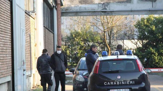 Sul posto anche gli esperti del reparto investigazioni scientifiche dei carabinieri