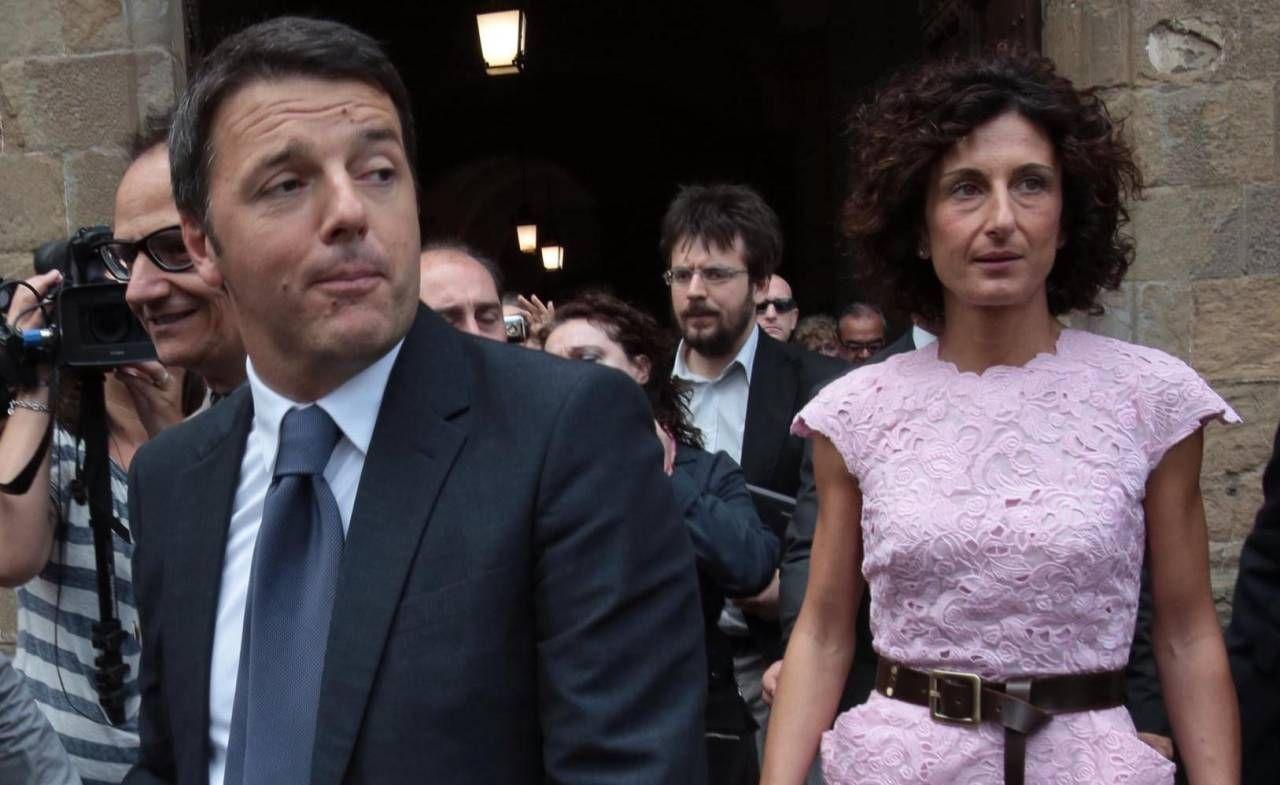 Il leader di Italia Viva ha reagito con un messaggio audio al video che lo ritrae nella sua proprietà insieme alla moglie Agnese e ai figli
