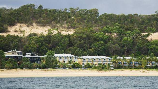 Il resort sull'isola che potrebbe salvare il campionato di rugby in Australia