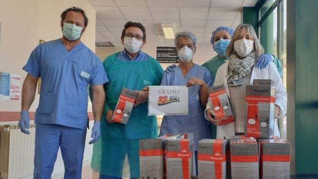 Da lunedì nuovo reparto per i malati Covid grazie all'aiuto della Fondazione Bocelli
