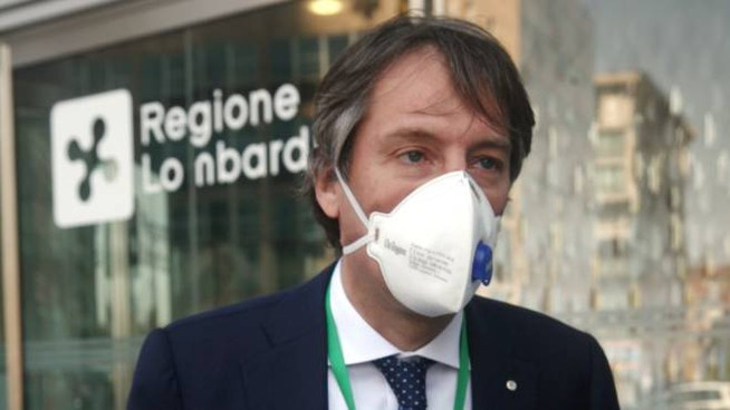 Il vicepresidente della Regione Fabrizio Sala