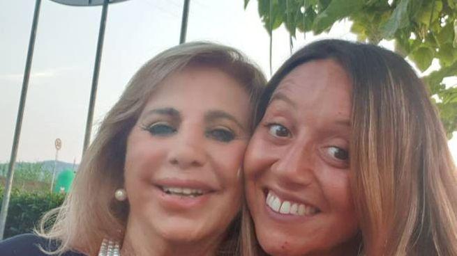 Elena con la nonna Carla