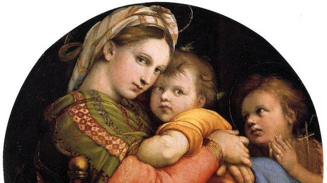 Madonna della Seggiola di Raffaello Sanzio, databile al 1513-1514