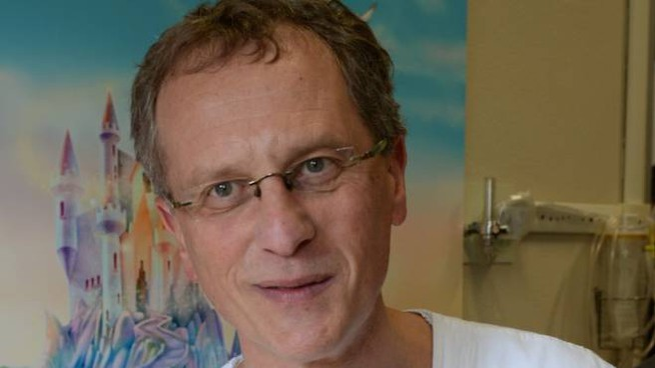 Enrico Valletta, primario del reparto di Pediatria dell'ospedale di Forlì (Frasca)
