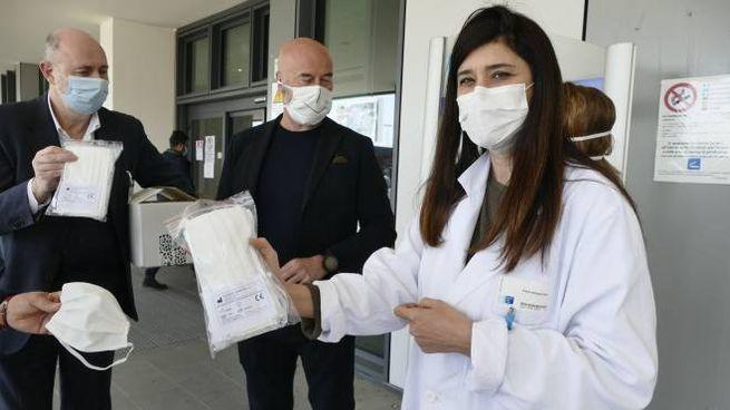 Nuove mascherine protettive a Firenze