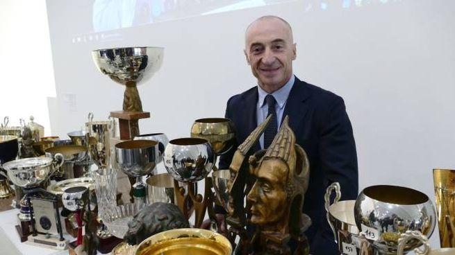 Jury Chechi, 50 anni, ex ginnasta e campione olimpico, vive a Prato