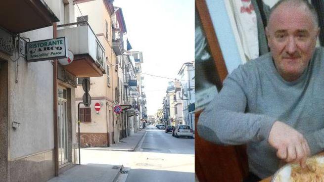 Ferdinando Divisi, 60 anni, cuoco e socio del noto ristorante 'L'Arco' di San Benedetto