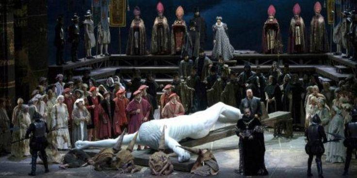 Il 'Don Carlo' diretto da Zubin Mehta con la regia di Giancarlo Del Monaco