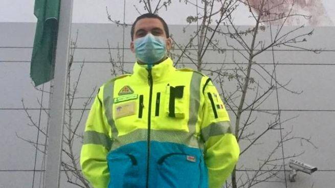 Pierluigi Bassano è studente di medicina e volontario della Misericordia di Empoli