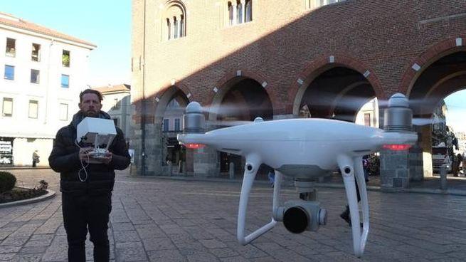 """Anche i droni per la caccia ai """"furbetti"""""""