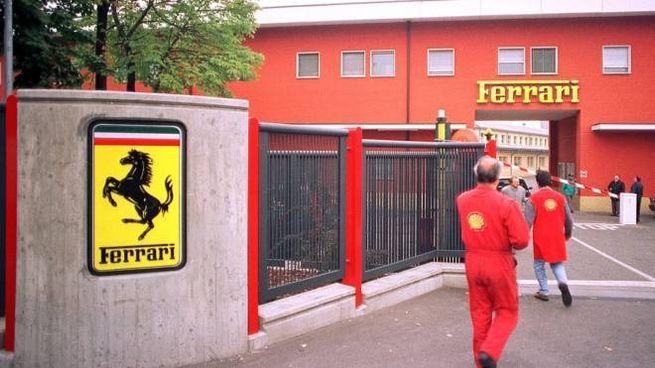Un'immagine di repertorio della sede Ferrari (FotoFiocchi)