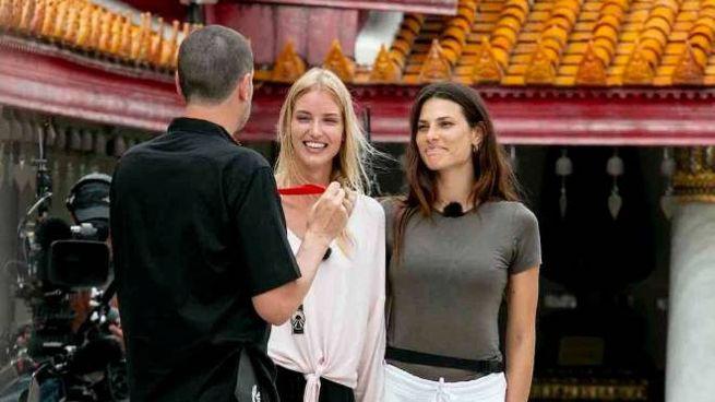 Le 'Top' Ema Kovac e Dayane Mello, una delle tre squadre finaliste a Pechino Express