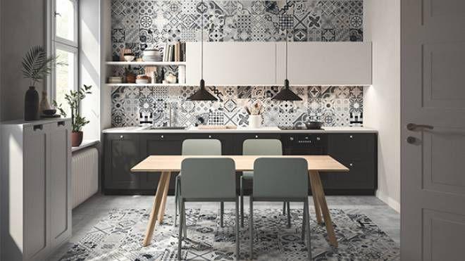 Rinnovare Le Piastrelle Della Cucina rivestimento in gres porcellanato per la cucina - magazine