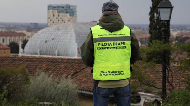 A Brescia nuovi controlli aerei grazie a 5 droni della polizia locale