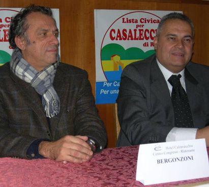 Da sinistra: Bergonzoni e Tonelli