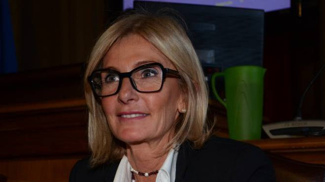 L'assessore all'istruzione Paola Casara