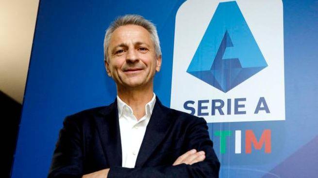 Il presidente della Lega Serie A, Paolo Dal Pino