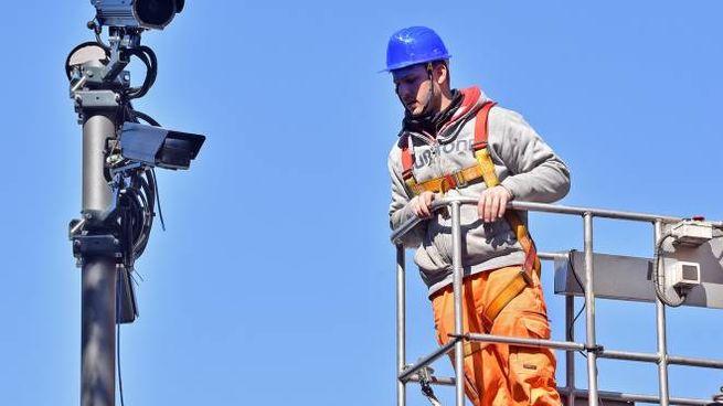 La metà delle 32 telecamere che saranno posizionate in città avrà la tecnologia