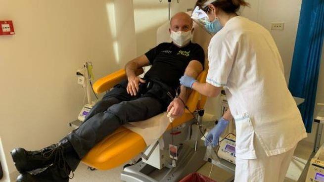 Il gruppo donatori di sangue del Corpo Guardie di Città