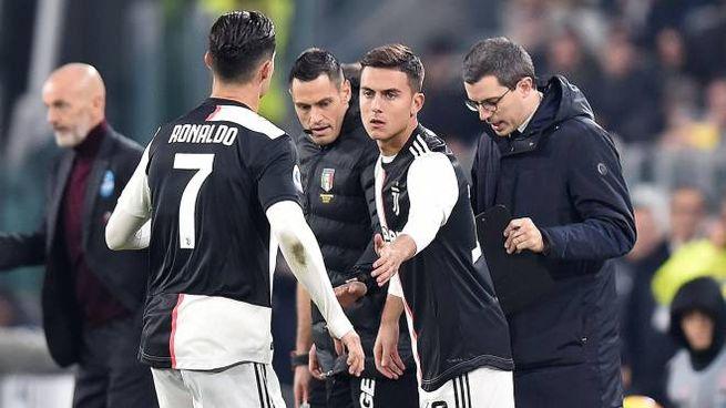 Un cambio fra Ronaldo e Dybala