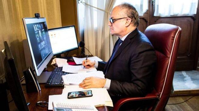 Il ministro Gualtieri (Dire)