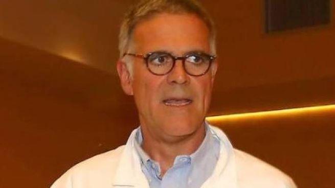 Il professor Alberto Zangrillo direttore di Anestesia e Rianimazione del San Raffaele