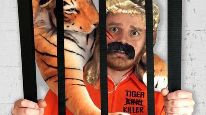 Il costume da 'Tiger King' - Foto: peta.org