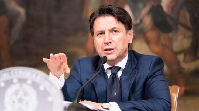 Giuseppe Conte (Ansa)