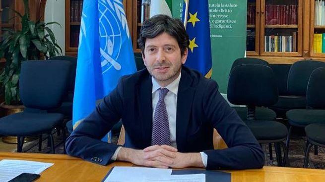 Il ministro della Salute Roberto Speranza (Dire)